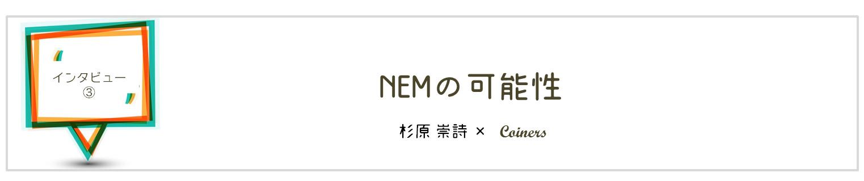 仮想通貨NEM/ネムの投資目線と実用目線の可能性