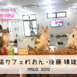 NEM/ネム決済店舗インタビュー|猫カフェ れおん 後藤 靖雄 氏(神奈川・東京)