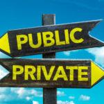 パブリックチェーン-プライベートチェーン