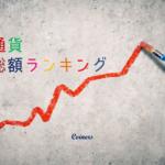 仮想通貨の時価総額ランキング/20170812
